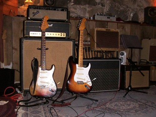Guitars at the Studio